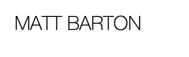 Matt Barton Artist